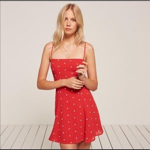 Red Reformation Stacey dress